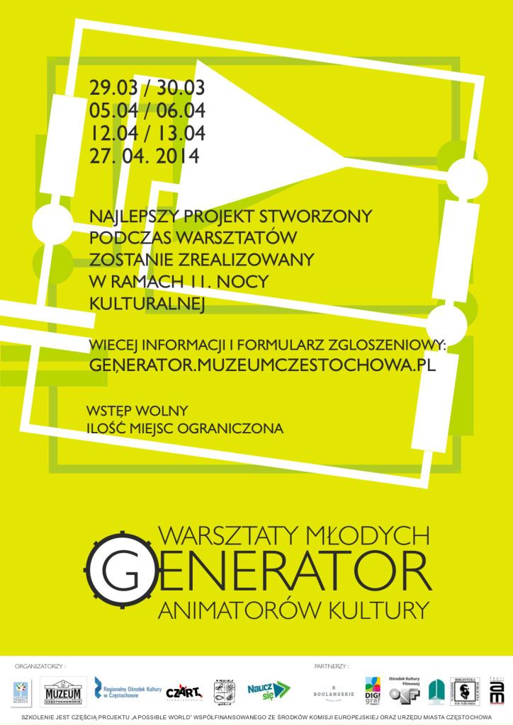 Generato plakato